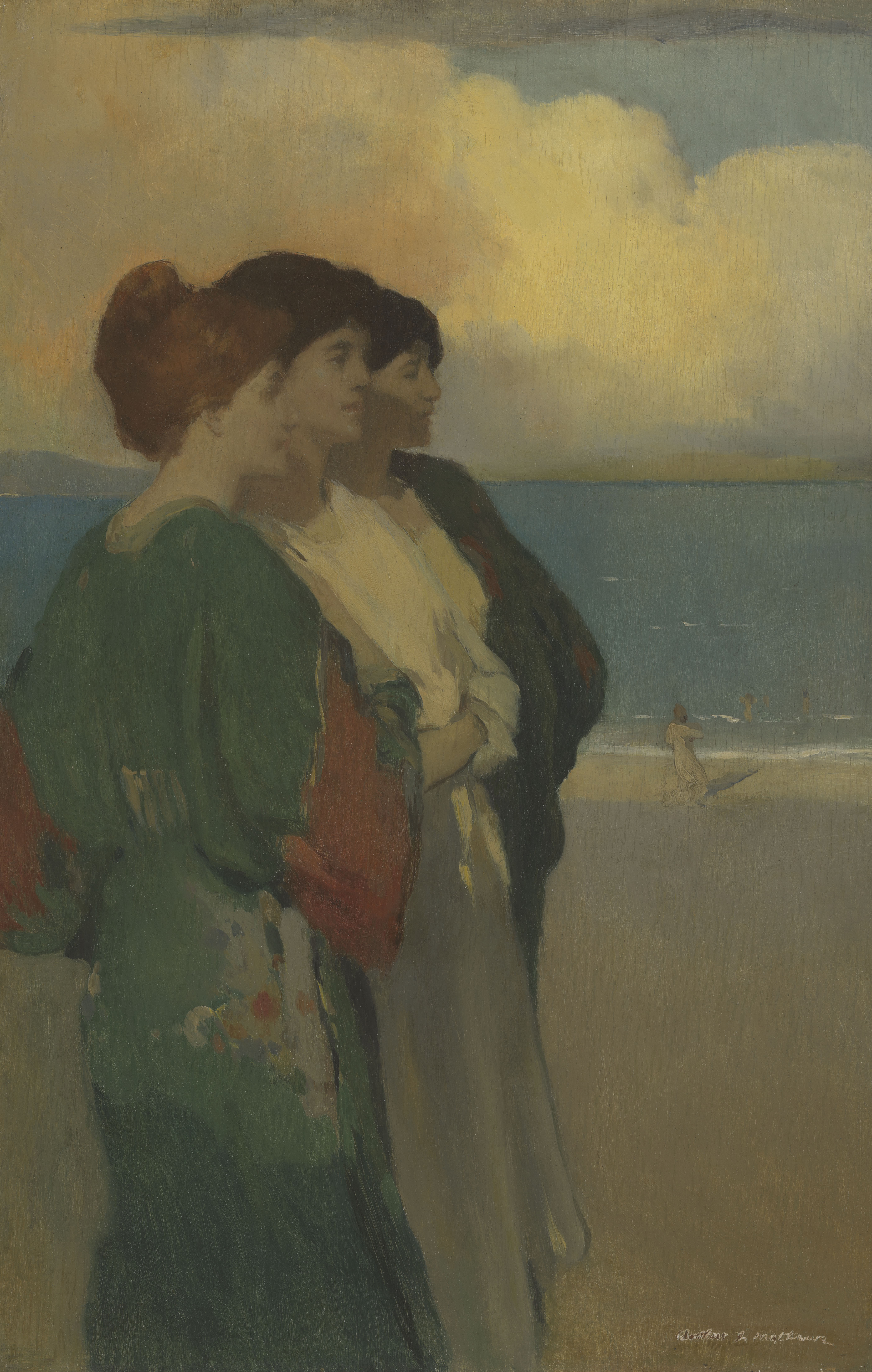 Song of the Sea (The Three Graces) by Arthur Frank Mathews
