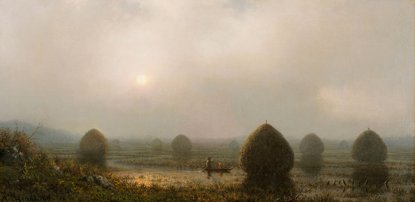 The Great Swamp by Martin Johnson Heade