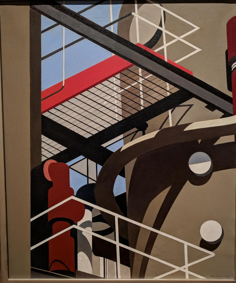 Charles Sheeler, Cat-Walk, 1947