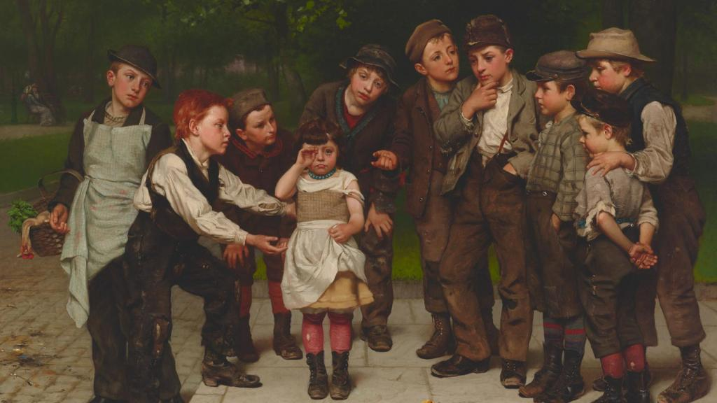 The Lost Child by John George Brown