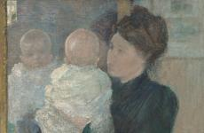 Mother and Child by John Henry Twachtman