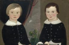 Isaac Josiah and William Mulford Hand by William Matthew Prior