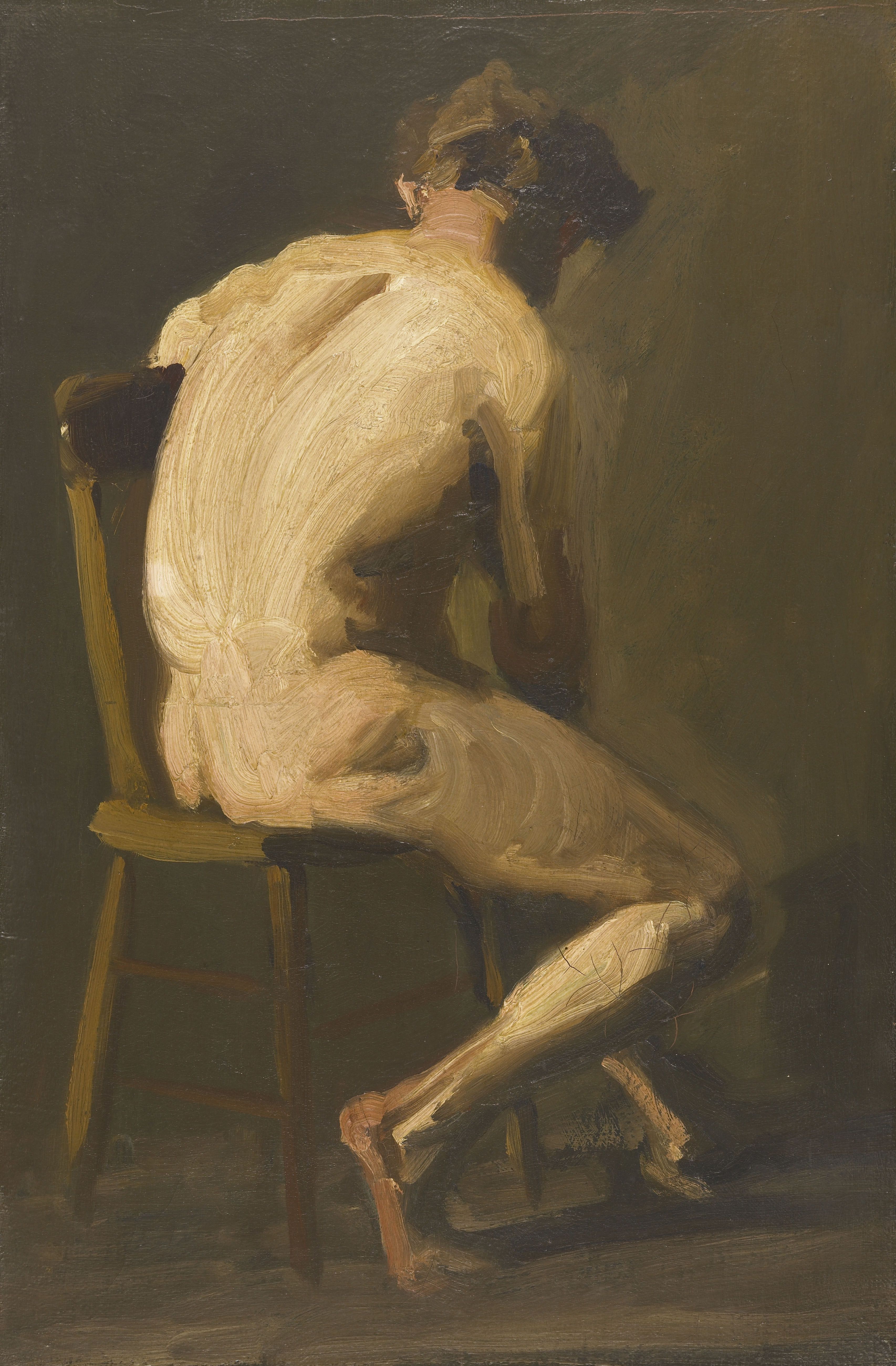 Seated Nude by George Wesley Bellows