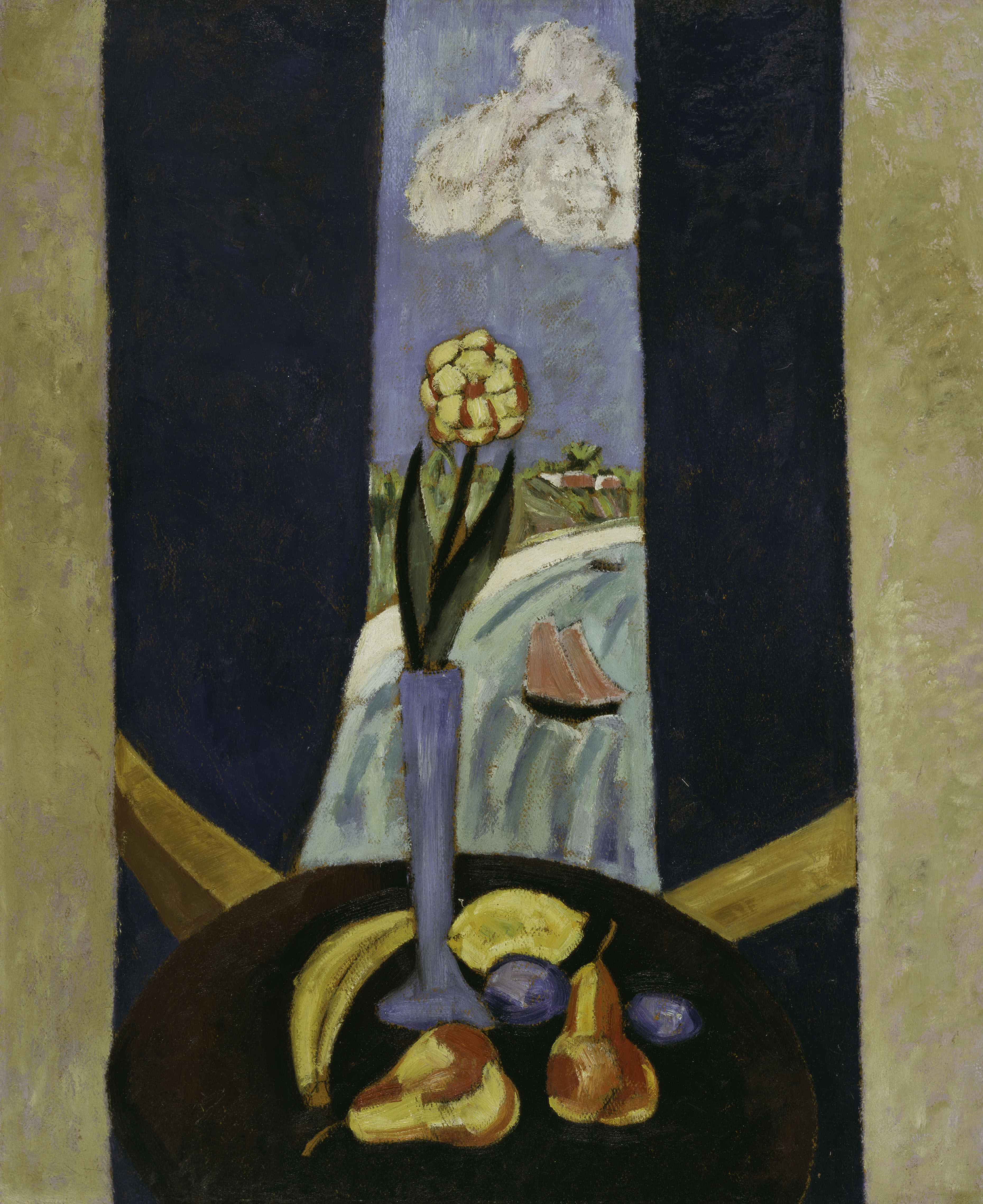 A Bermuda Window in a Semi-Tropic Character by Marsden Hartley
