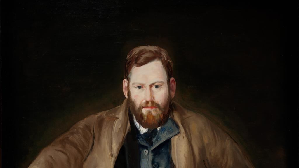 Waldo Peirce by George Wesley Bellows
