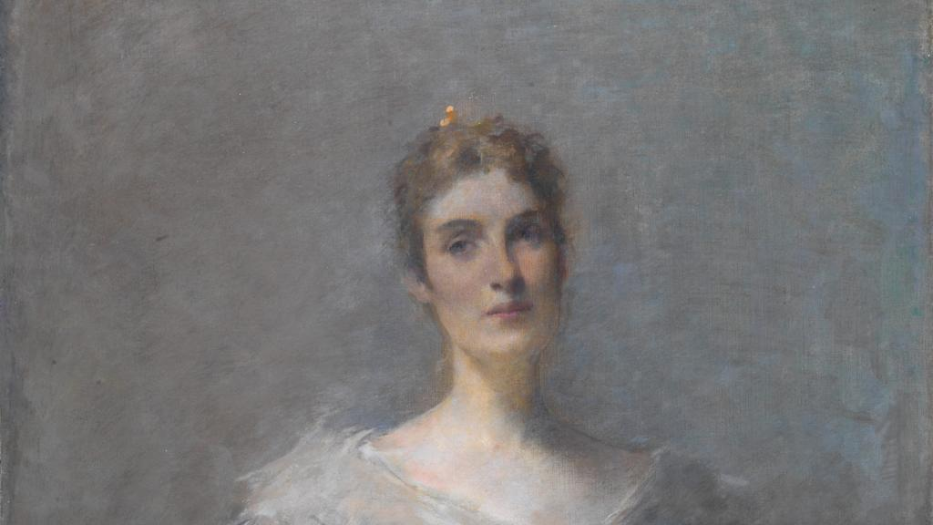 Elizabeth Platt Jencks by Thomas Wilmer Dewing