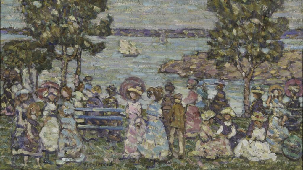 The Holiday by Maurice Brazil Prendergast