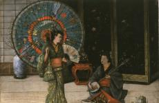 "Scene from ""The Mikado,"" with Louise Paullin by Henry Alexander"