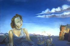 Portrait of Dorothy Spreckels Munn by Salvador Dalí