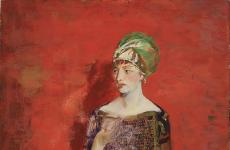 O in Persian Costume by Robert Henri
