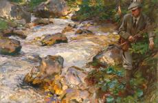 Trout Stream in the Tyrol by John Singer Sargent