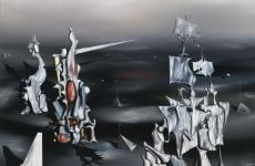 From One Night to Another by Yves Tanguy