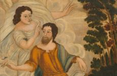 St. Matthew and the Angel by Unidentified artist
