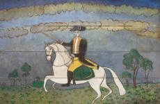 George Washington on a White Charger by Unidentified artist